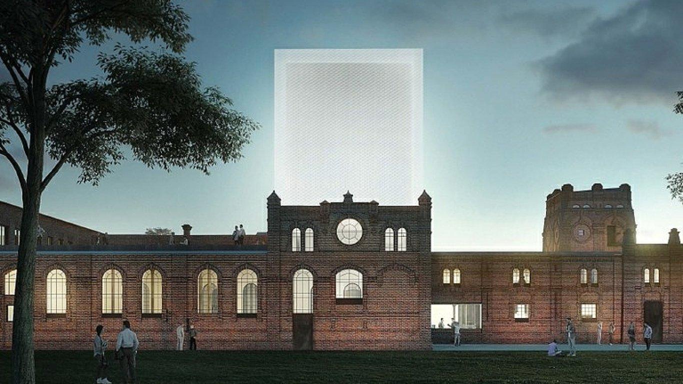 Snímek vítězného návrhu studia Petr Hájek Architekti na přestavbu ostravských jatek.