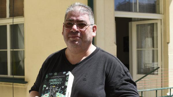 Britský spisovatel Ben Aaronovitch v Ostravě vystoupí v pátek, mezitím se zastavil v Praze.