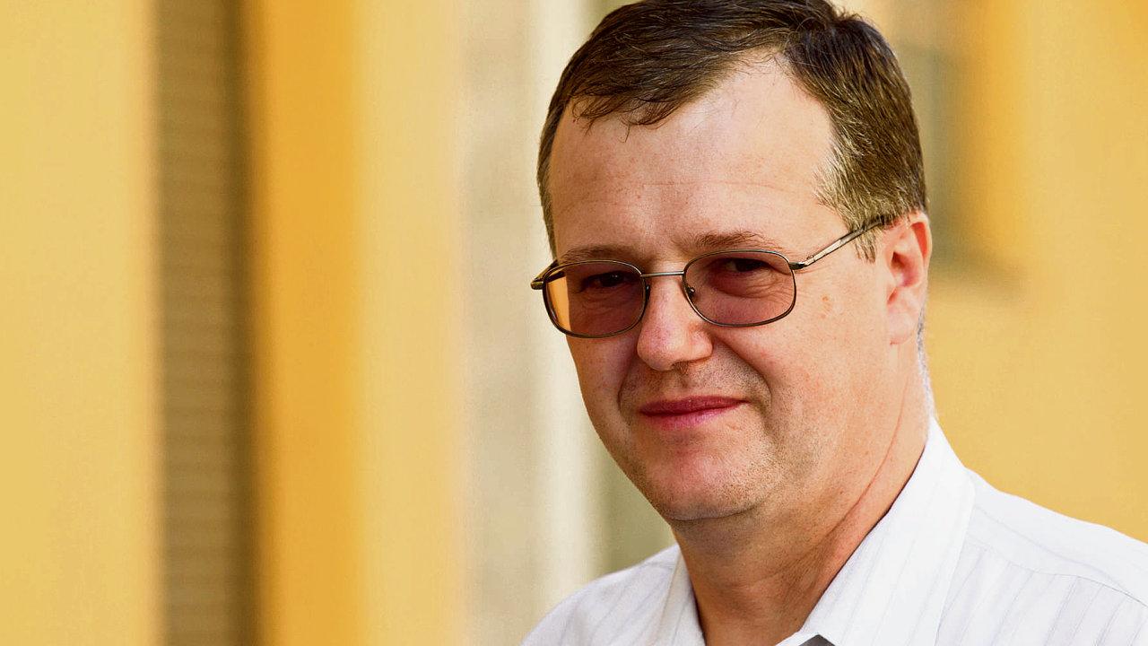 Petr Zahradník, ekonom České spořitelny