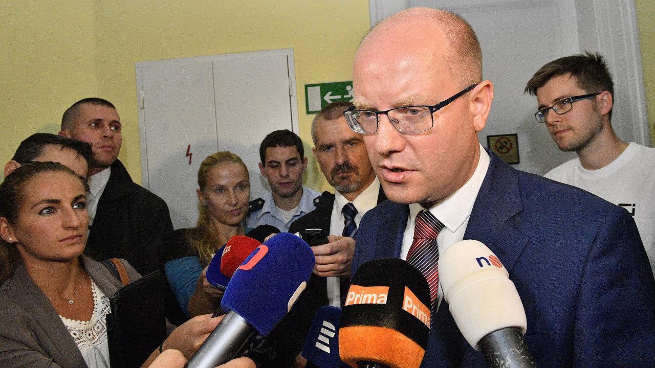 Premiér Bohuslav Sobotku byl v době privatizace OKD ministrem financí v kabinetu Stanislava Grosse.
