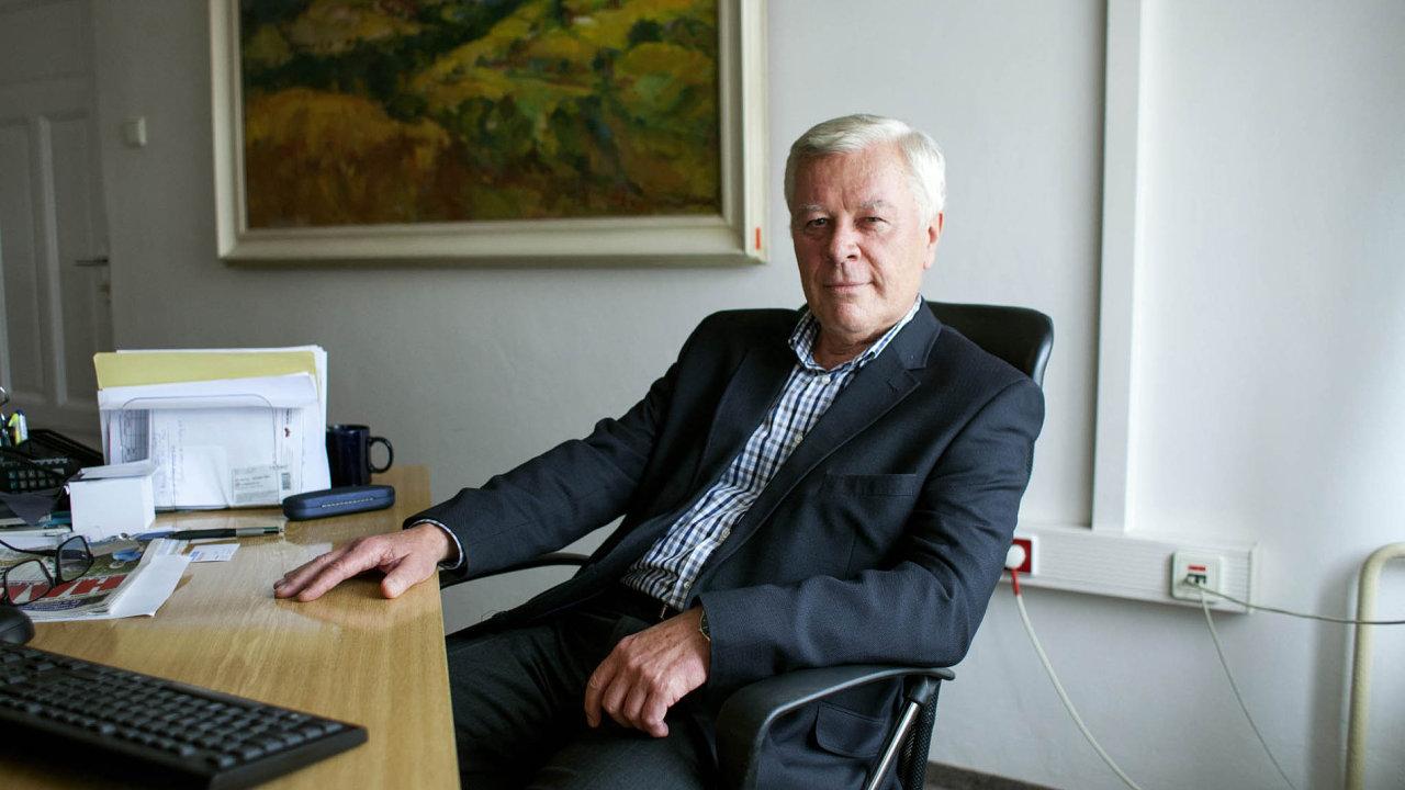 Komunistický politik, podnikatel a publicista Josef Skála