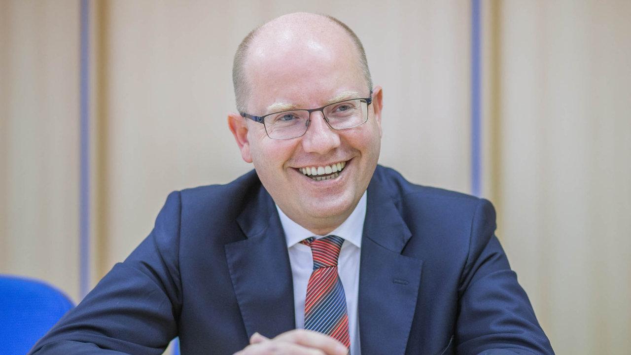 Dnes už bývalý premiér Bohuslav Sobotka.