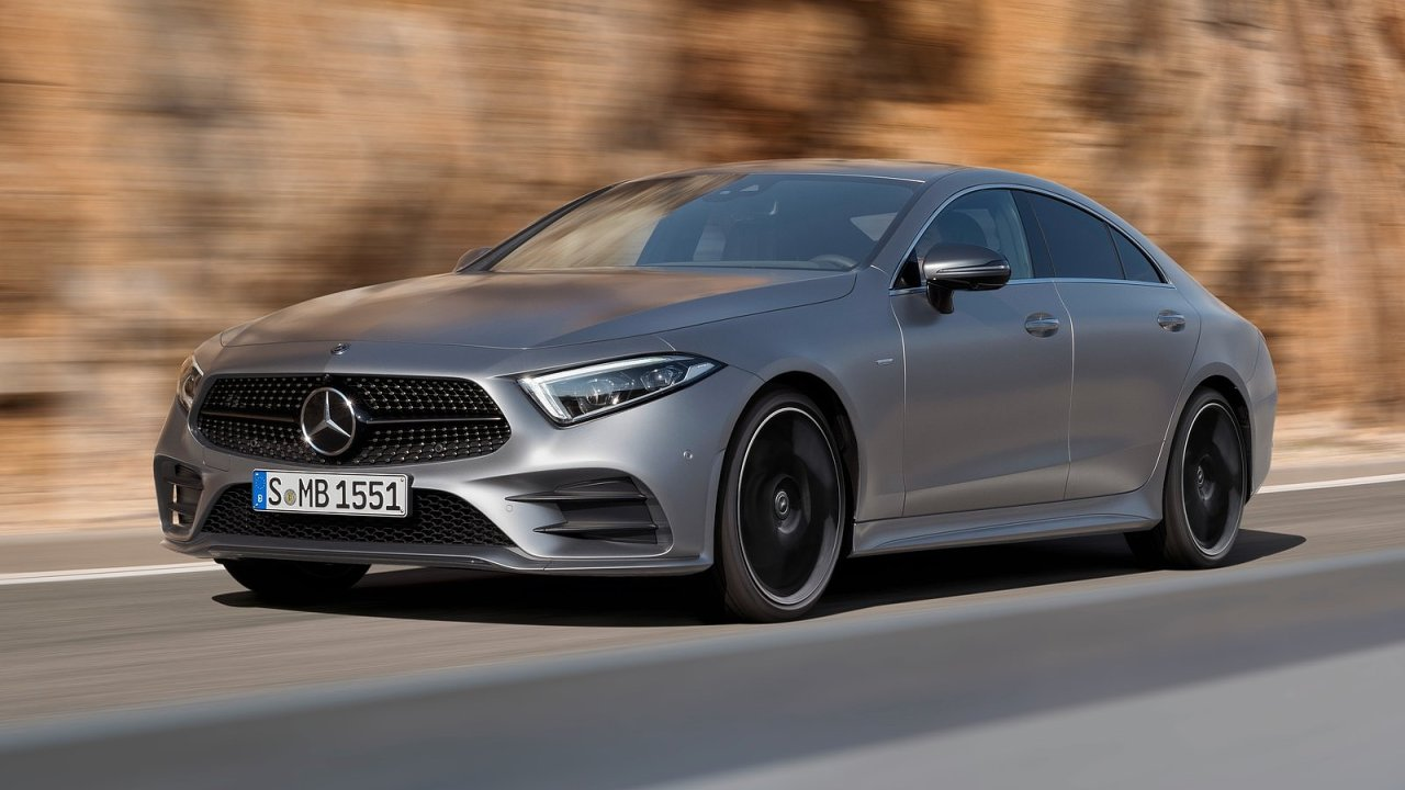 Nová generace Mercedesu CLS.