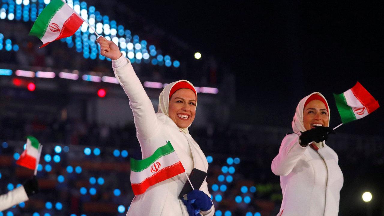 Výprava íránských sportovců nakonec mobilní telefony obdrží.