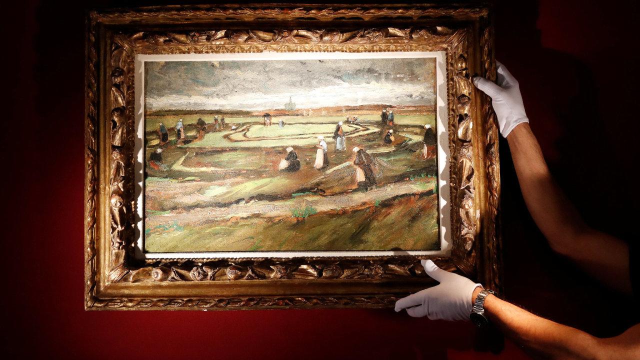 Van Goghův obraz se vydražil za víc než 180 milionů korun.