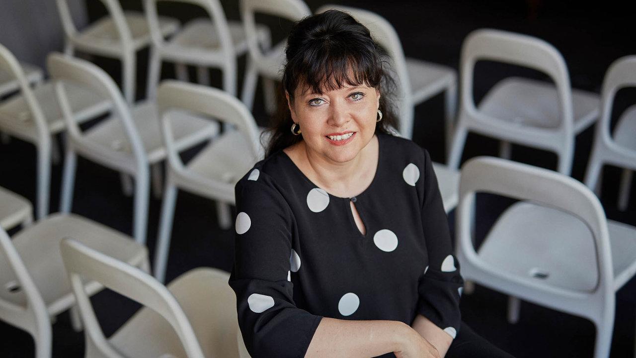 Pavla Gomba, šéfka české pobočky mezinárodní humanitární organizace UNICEF.