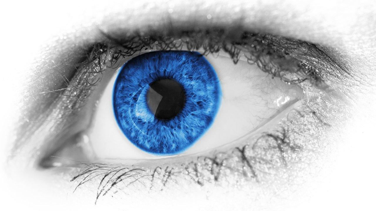 Protetické oko, ilustrace