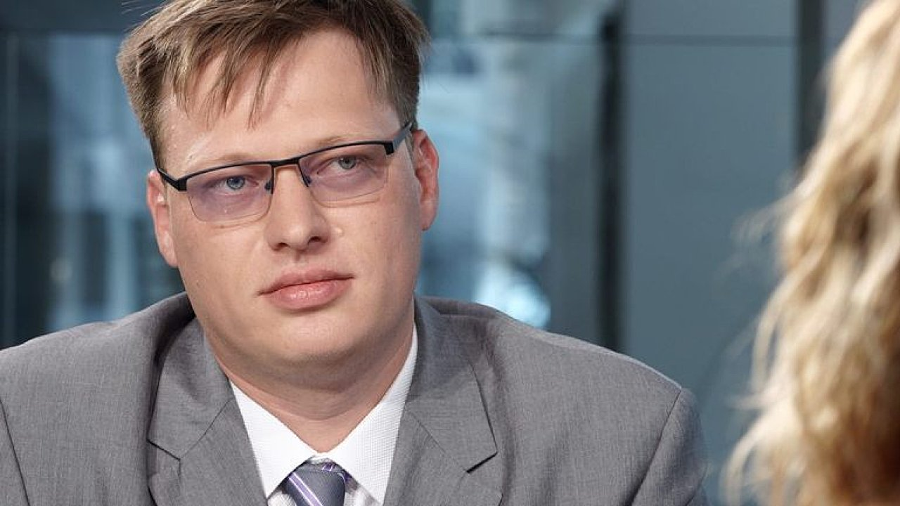 Předseda vyšetřovací komise k OKD Lukáš Černohorský.