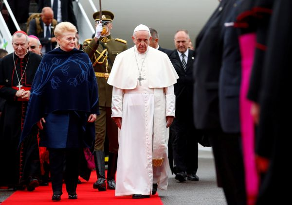 0922GDY205 POPE BALTIC LITHUANIA 20WELCOME 0922 11
