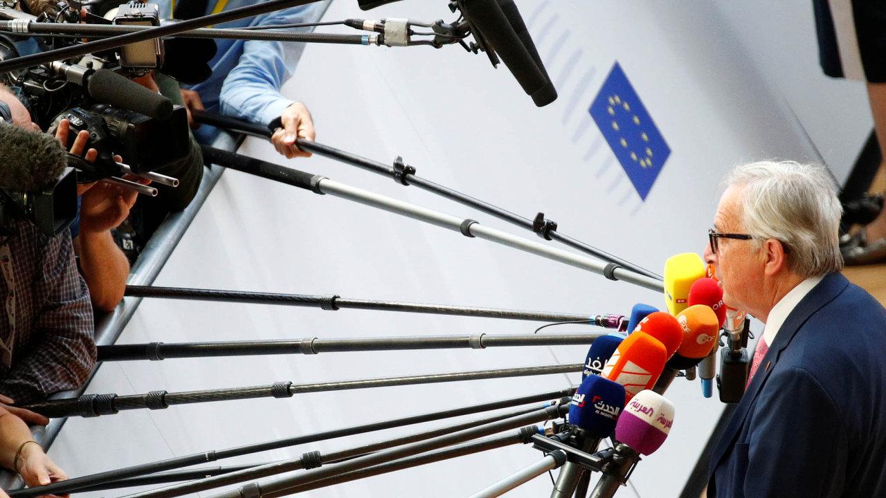 Hledejme shodu: Předseda Evropské komise Jean-Claude Juncker by rád hlasoval odaních většinově.