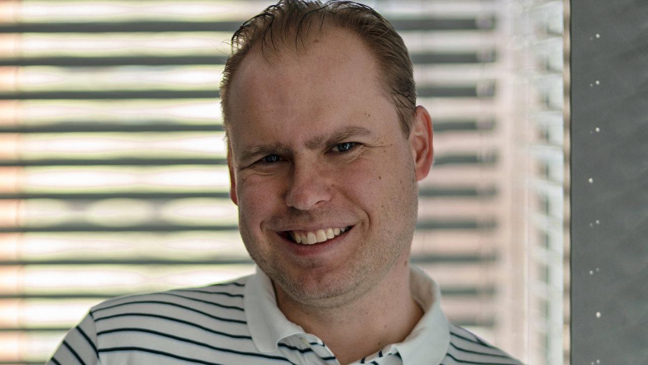 Martin Palička, CEO společnosti Etnetera