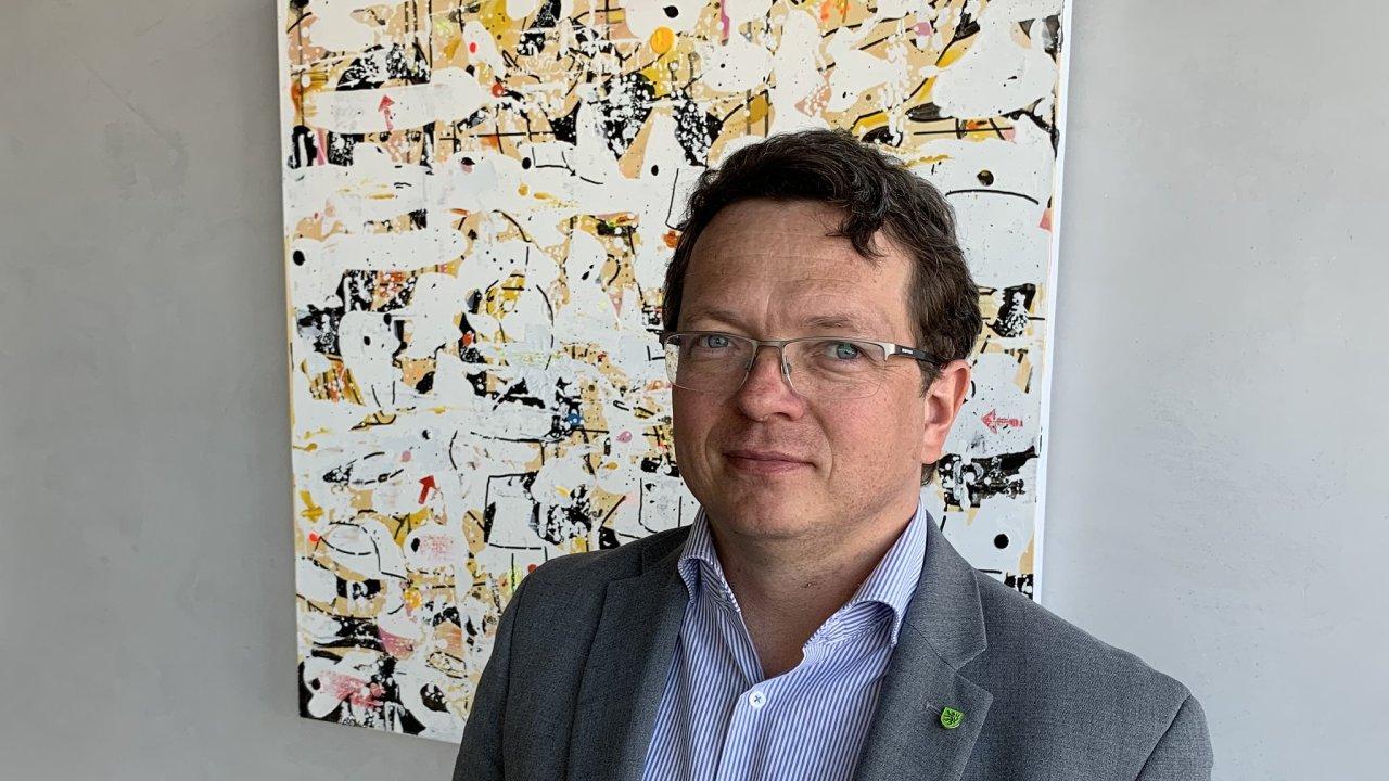 Náměstek ministra životního prostředí pro řízení sekce fondů Evropské unie Jan Kříž.
