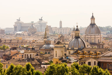 Římské panorama. - Ilustrační foto