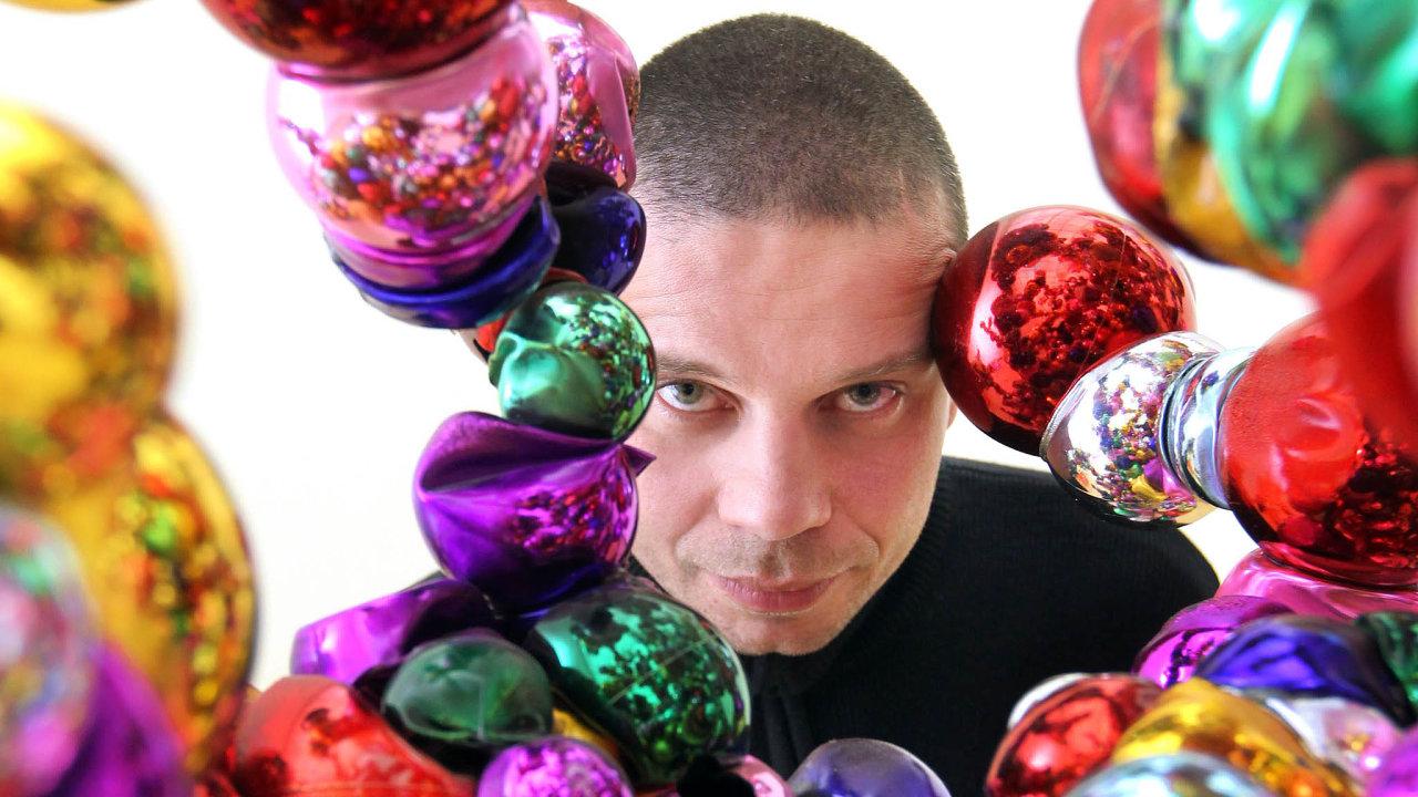 Na J&T Banka Art Index Pop-upu bude vystavovat Krištof Kintera.
