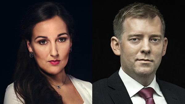 Marcela Káňová a Roman Kyral, partneři v advokátní kanceláři CÍSAŘ, ČEŠKA, SMUTNÝ