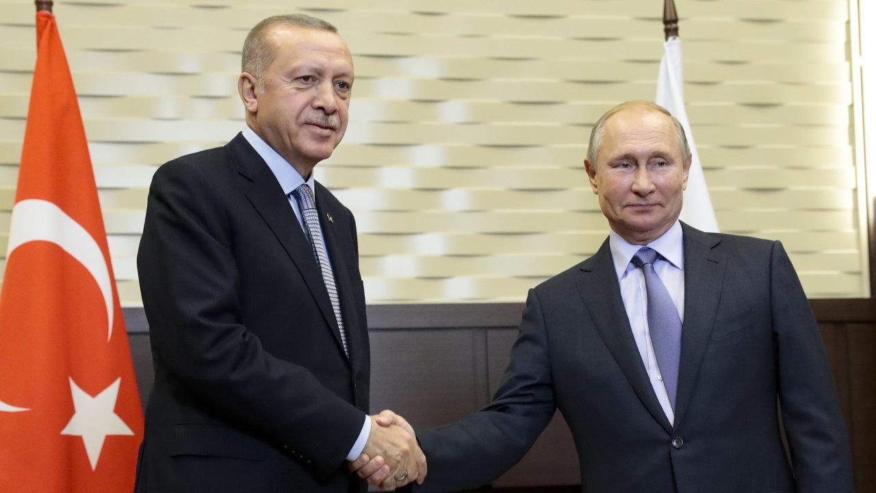 Trump, Erdogan, Soči, Sýrie, Turecko, Rusko