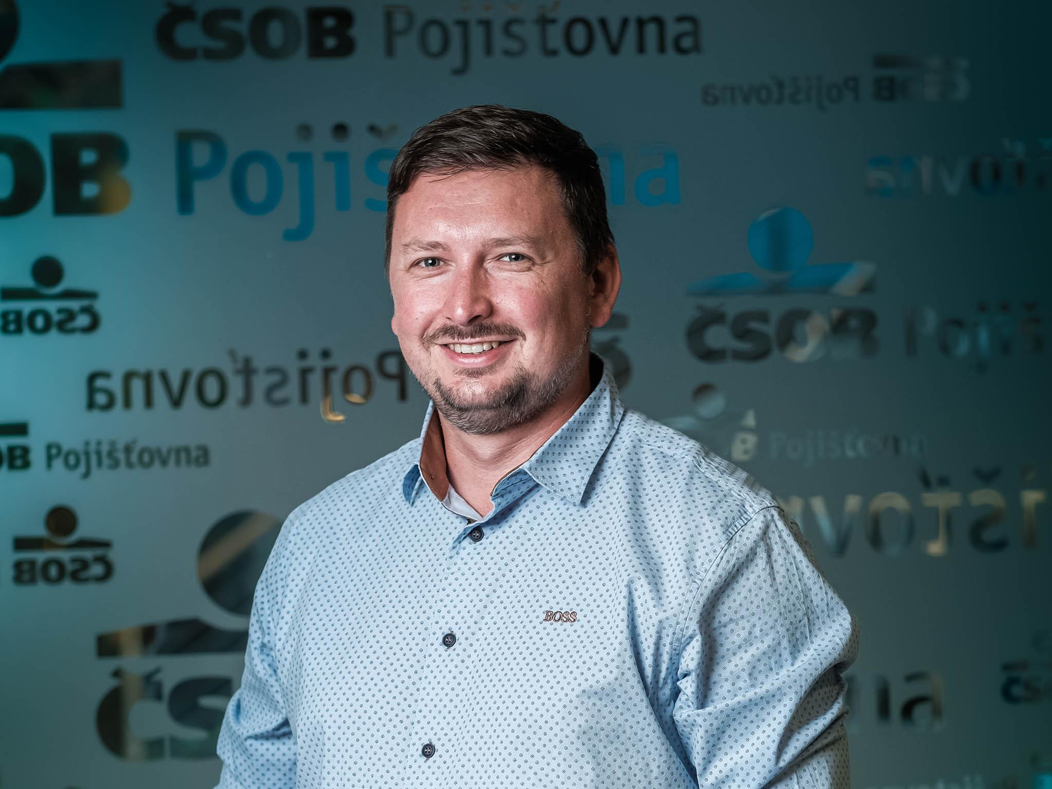 David Bláha, manažer přímé distribuce ČSOB Pojišťovny