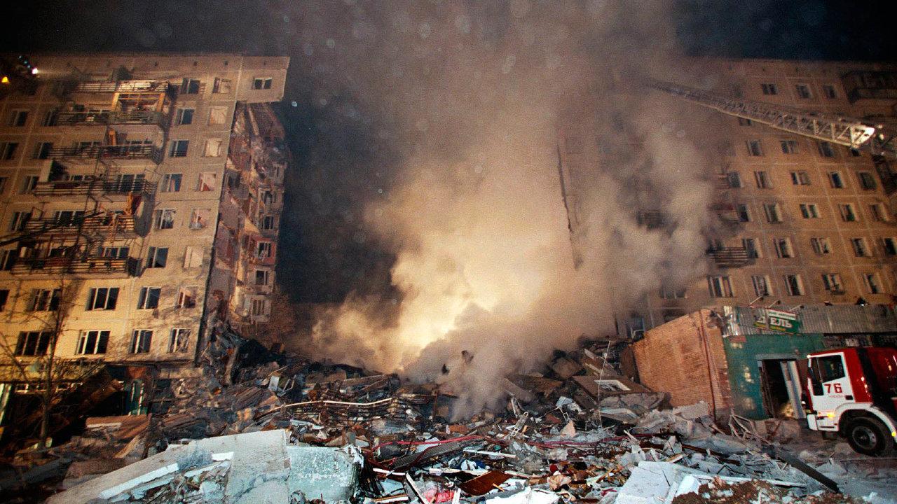 Výbuch v moskevské Gurjanovově ulici 9. září 1999 si vyžádal 106mrtvých a 249 zraněných.
