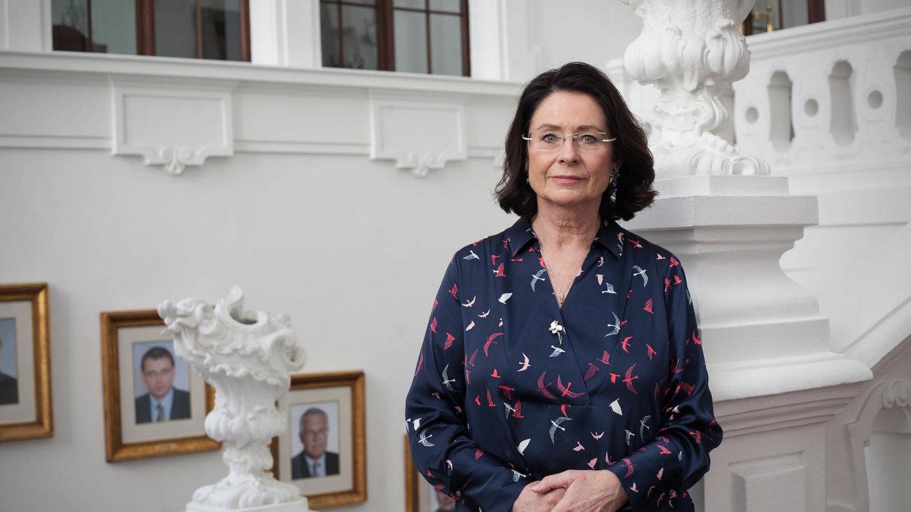 Důležití hráči: Poslankyně ODS Miroslava Němcová mluvila při představení kandidátů do rad na volebním výboru sněmovny hlavně ofinancování veřejnoprávních médií.