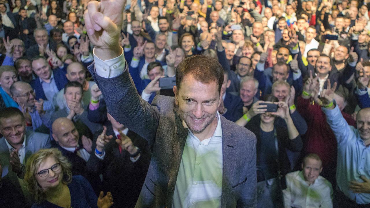 Hnutí Obyčejní lidé anezávislé osobnosti (OLaNO) Igora Matoviče získalo 25,02 procenta hlasů.