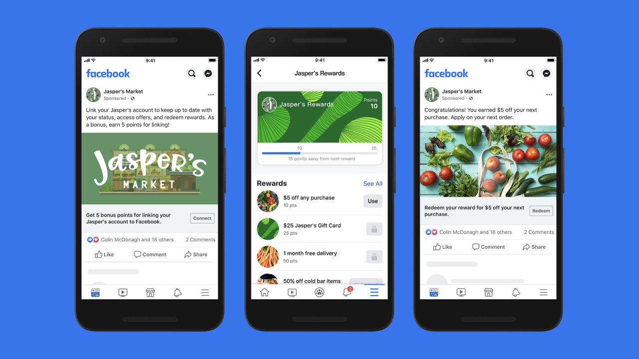 Facebook umožní provozovatelům e-shopů nastavit i věrnostní programy.