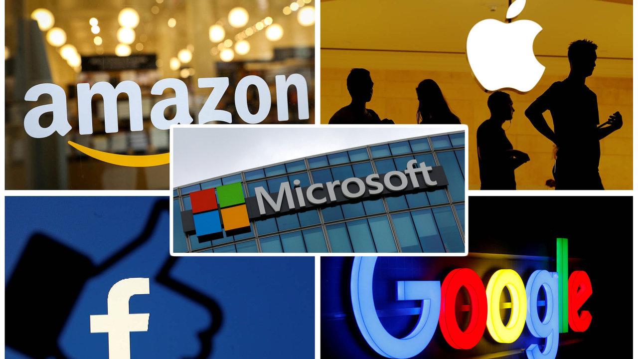 Firmy jako Apple, Facebook, Google, Amazon a Microsoft se stávají terčem obvinění, že svými podnikatelskými praktikami omezují hospodářskou soutěž a poškozují spotřebitele.