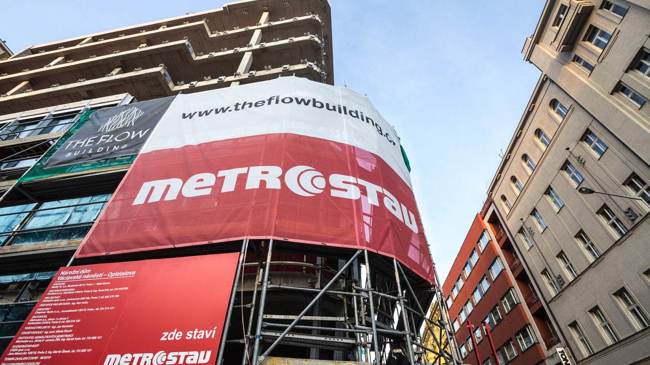 Loni činily tržby skupiny Metrostav celkem 41,8 miliardy korun. Ztoho více než polovinu představovaly tržby dceřiné firmy Metrostav.