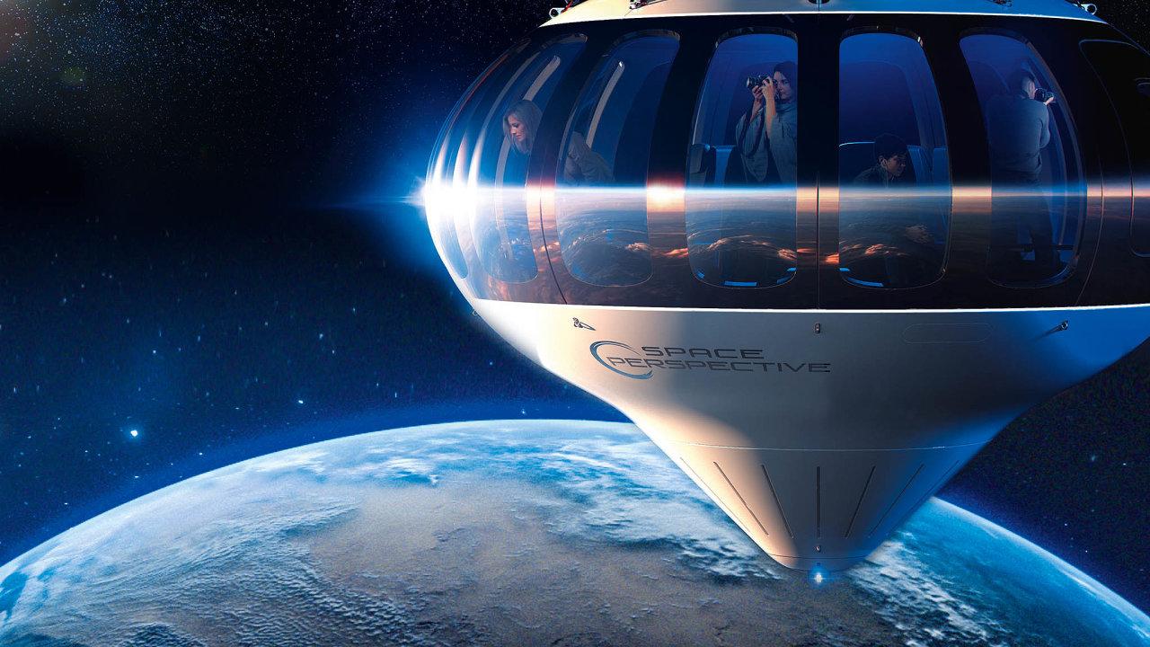 Doobřího balonu spojeného spřetlakovou kapslí se kromě pilota vejde až osm pasažérů, kteří se zatouží vydat naokraj vesmíru. Konkrétně dovýšky přes 30 tisíc metrů, čímž se dostanou nad 99procent zemské atmosféry.