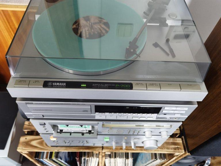 Kompletní audio systém Yamaha z přelomu 70. a 80. let