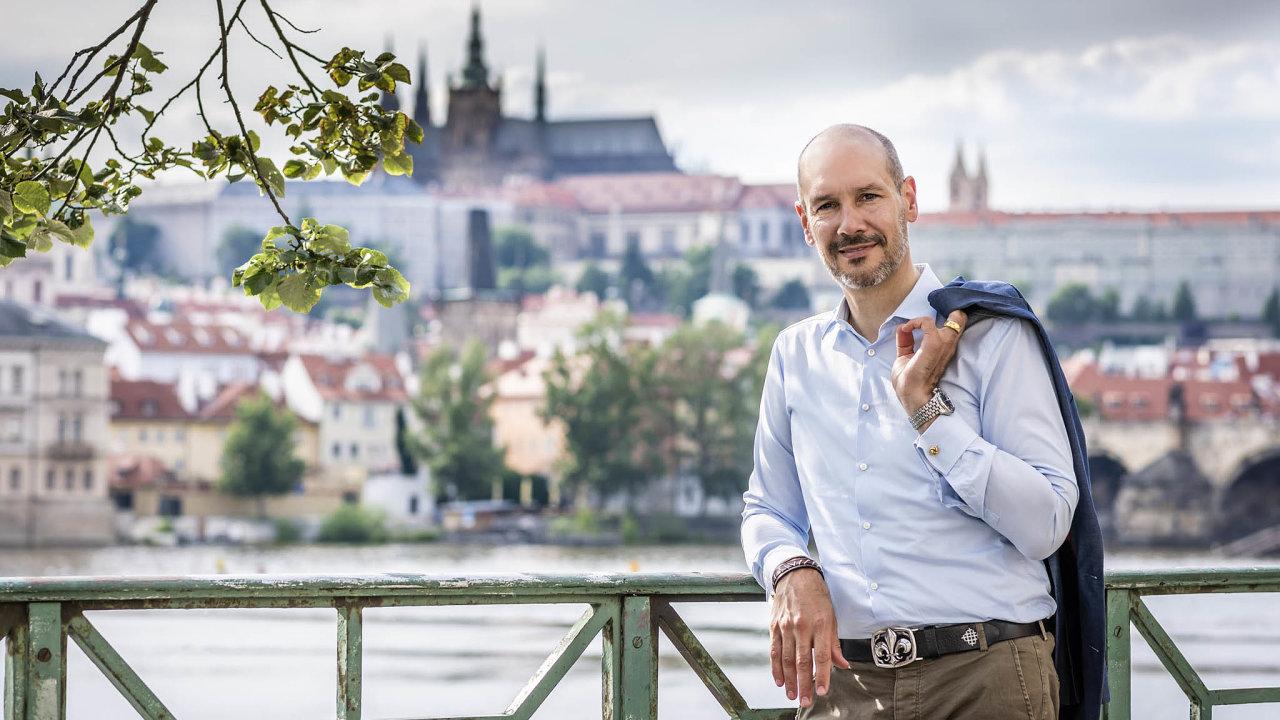 Wolfgang Karl Bremm von Kleinsorgen, ředitel Mercedes-Benz Cars Českárepublika.