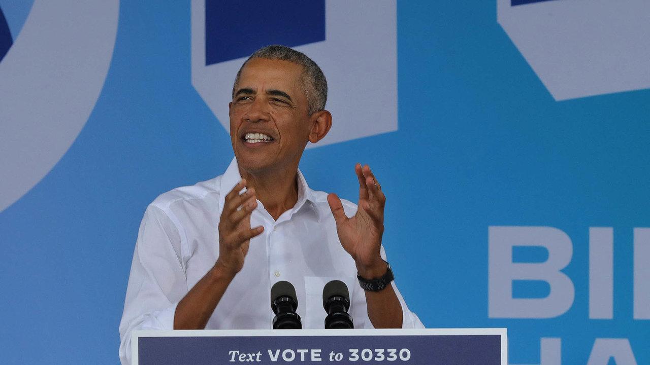 Obamovy paměti vyšly 16.listopadu, den poté, co Donald Trump poprvé zdráhavě připustil, že vyhrál Joe Biden, někdejší Obamův viceprezident. Obama jej zejména vzávěru kampaně velmi silně podpořil.