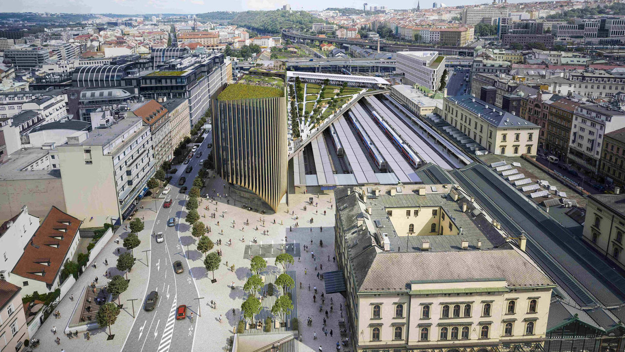 Nejdéle se na stavební povolení čeká u dálničních staveb a u velkých developerských projektů v Praze. Mezi takové patří například projekt skupiny Penta u Masarykova nádraží, který se už měl stavět.