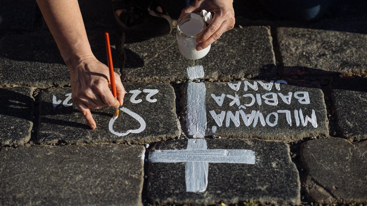 Kříže na Staroměstském náměstí