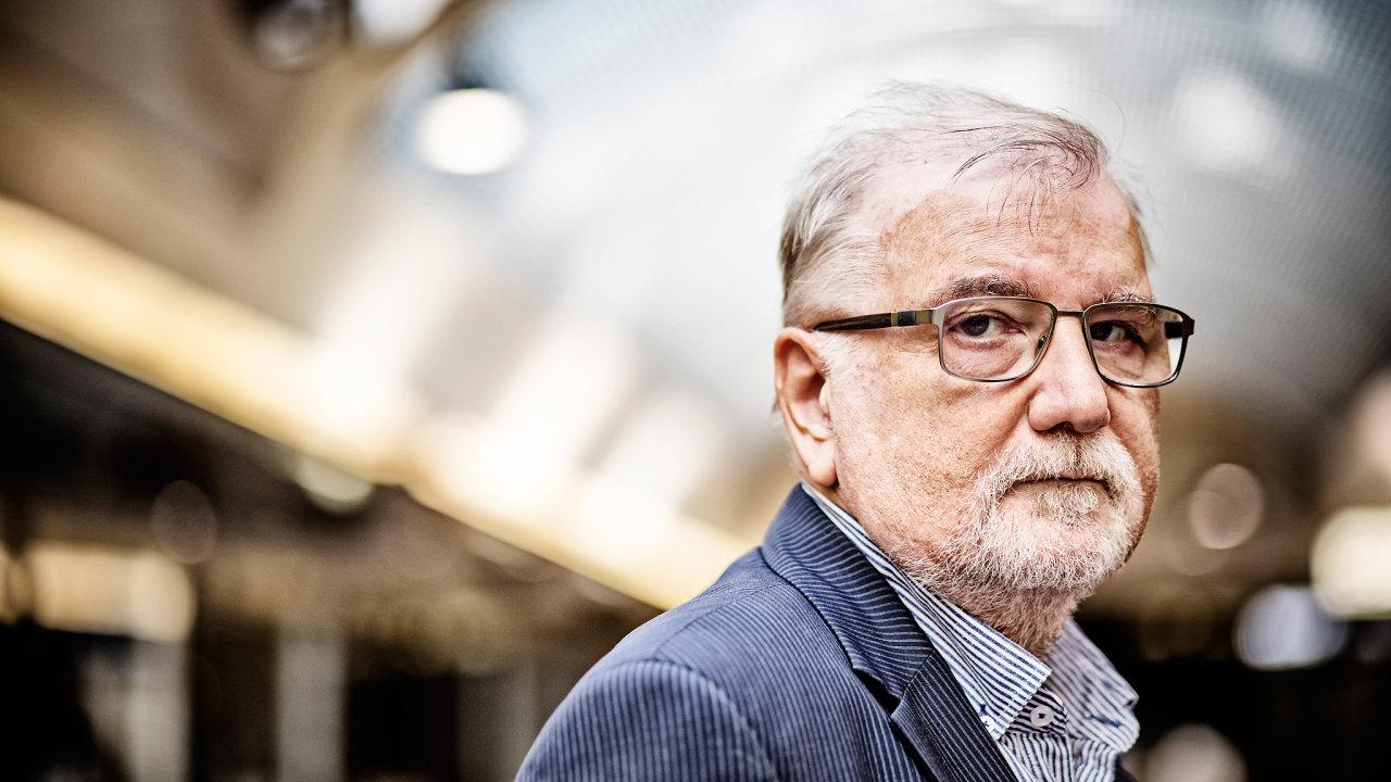 Jaroslav Hanák, prezident Svazu průmyslu a dopravy