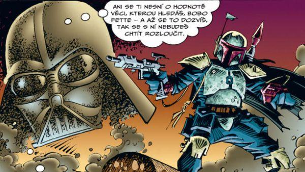 Komiks Star Wars: Stíny Impéria přináší tři příběhy