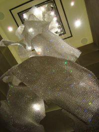 Instalace osvětlení Lasvit v Ritz-Carlton hotelu v Hongkongu
