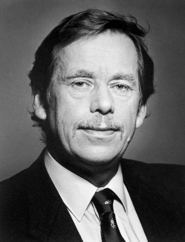 Oficiální portrét Václava Havla z roku 1990
