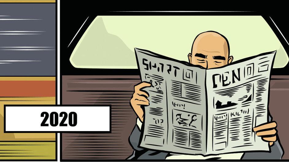 Zprávy o smrti novin jsou zatím přehnané