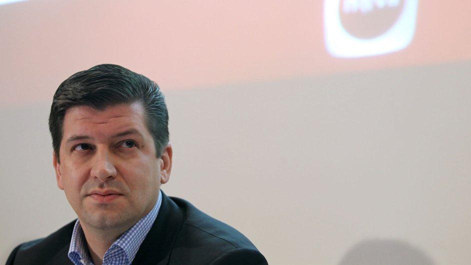 Generální ředitel TV Nova Jan Andruško
