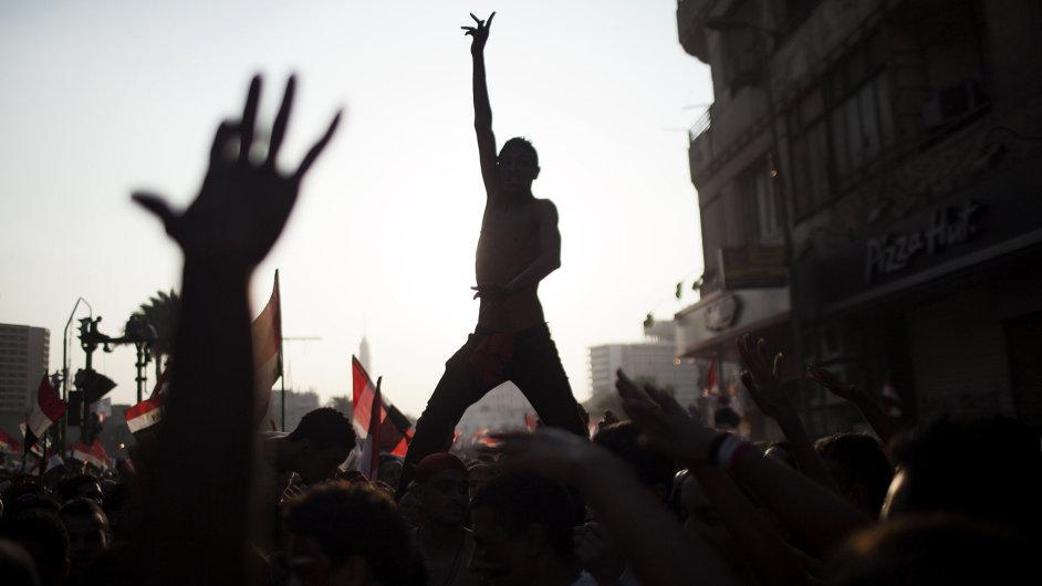 Egypt, demonstrace