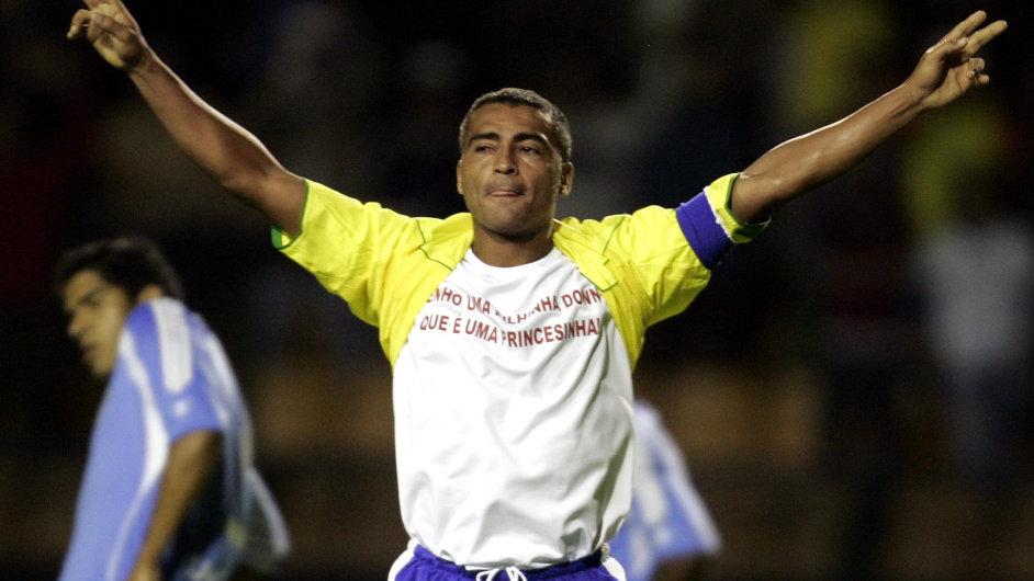 Romário jako kapitán Brazílie