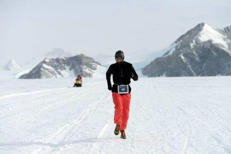 Souboj s časem na ledovci Union Glacier