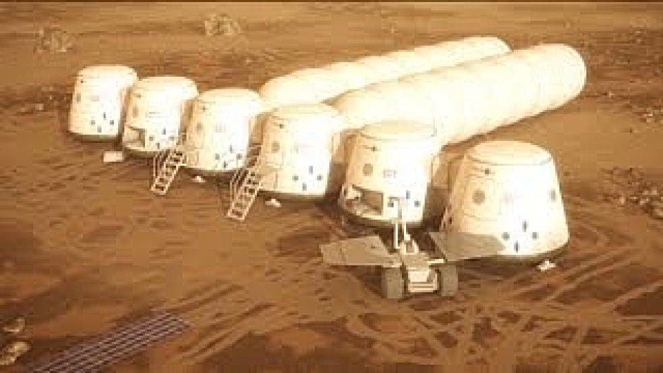 Kolonizace Marsu podle projektu Mars One.