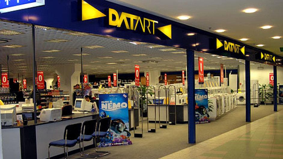 Prodejna Datartu.