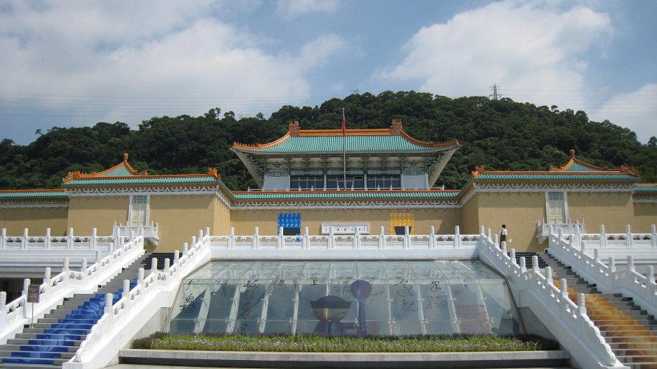 Národní palácové muzeum má ve svých sbírkách takřka 700 tisíc kusů čínského umění
