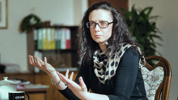 Náměstkyně ministra financí Simona Hornochová slibuje znovuzavedení dvou sazeb DPH