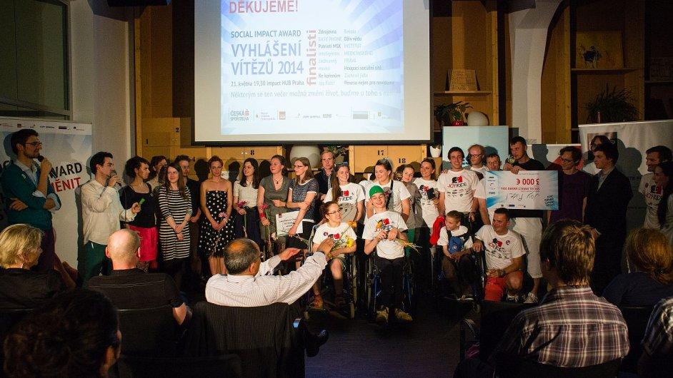 Slavnostní předávání cen Social Impact Award v pražském HUB