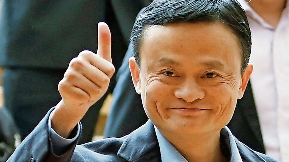 Zakladatel Alibaby Jack Ma se stal nejbohatším mužem Asie.