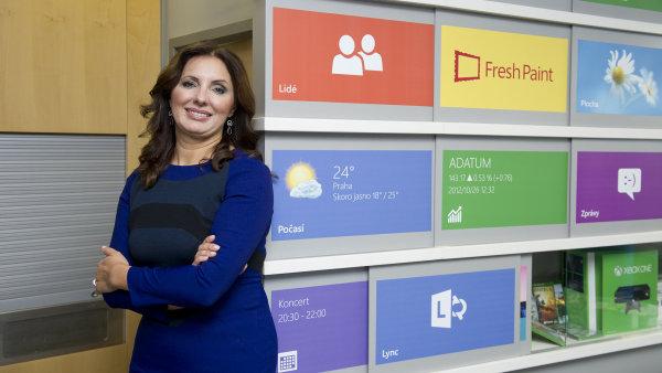 Ředitelka českého Microsoftu Biljana Weberová