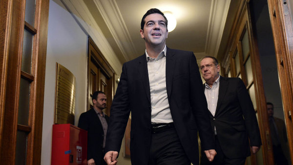 �eck� premi�r Alexis Tsipras